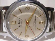 Beautiful Vintage Swiss Sellita 17 Jewels Incabloc Mens Wrist Watch