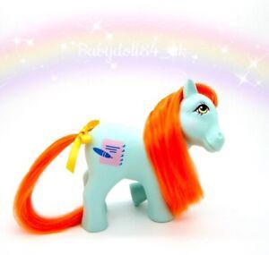 ⭐️ My Little Pony ⭐️ G1 Vintage Euro 7 Tales Bright Eyes Gorgeous!