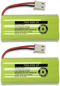 2-Pack BT162342/BT262342 Battery for Vtech CS6114 CS6419 CS6719 EL52300 CL80111