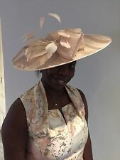 NIGEL RAYMENT NUDE DISC HATINATOR  HAT WEDDING OCCASION MOTHER OF THE BRIDE