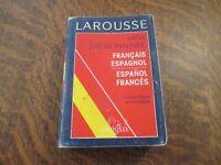 larousse mini dictionnaire francais-espagnol / espanol-frances
