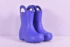 Toddler Boy's Crocs Handle It Rain Boots, Cerulean Blue, c11