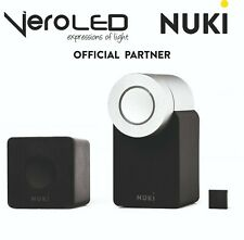Official NUKI Smart Lock 2.0 + Nuki Bridge Automazione Porte Blindate
