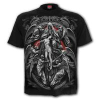 SPIRAL DIRECT REAPER'S DOOR T-Shirt Biker/Grim Reaper/Skull/Gothic/Top/Tee/Death