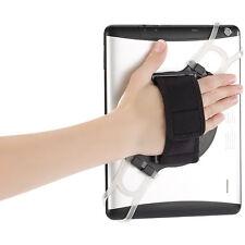 Callstel 2in1 Tablet-Halterung mit Handschlaufe & Ständer für 7-11 Zoll Tablets