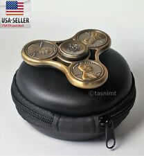 Fidget Spinner Hand Toy Stress Reducer - EDC Desk Focus ADHD Penny Coin Bearings