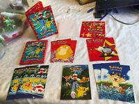 VINTAGE POKEMON ADDRESS BOOK AND CARDS WITH ENVELOPES GIFT SET DATED 2000