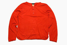 authentic A.P.C womens long sleeve t shirt jumper cardigan Size 4 apc sweatshirt