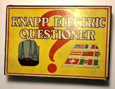 1920's Knapp Electric Questioner Educational Game
