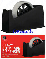 Heavy Duty Tape Dispenser Desktop Office Sellotape Sticky Cellotape Pack Holder