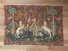 """Vintage French Tapestry Made In France. Cotton 28""""x41"""""""