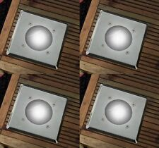 12 X Energia Solare a Terra Luce Pavimento Decking Patio LED Illuminazione Giardino Esterni