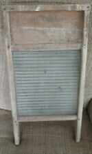 country primitives vintage glass National washboard
