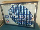 Bud Light beer nfl cans sign chiefs raiders Buccaneers Broncos Redskins ny