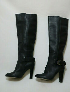 WITCHERY Size 9 Women's Meredith Thick Leather Knee High Boot - RRP $349.95