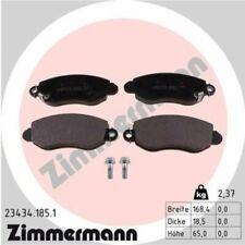 1x Bremsbelagsatz  Scheibenbremse ZIMMERMANN 23434.185.1