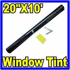 "20"" X 10FT ROLL 5% LIMO SHADE WINDOW TINTING FILM TINT UNCUT 20""x10' 5% d"