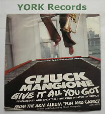 "CHUCK MANGIONE - Give It All You've Got - Excellent Con 7"" Single A&M AMS 7508"