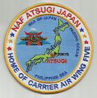 Внешний вид - US NAVY BASE PATCH, ATSUGI NAF, JAPAN, CAW 5                                   Y