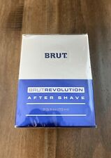 BRUT REVOLUTION AFTER SHAVE 2.5 FL. OZ. Factory Sealed New In Box 2006 Splash