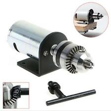 DC 12-36V Lathe Press 555 Motor With Miniature Hand Drill Chuck and Mounting