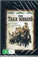 THE TRAIN ROBBERS  ( JOHN WAYNE ) DVD NEW AND SEALED
