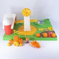 Vintage 1980 Child Guidance Toy Pumpkin Farm - 99% Complete