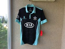 Surrey County Cricket Club Jersey Surridge England London Signed Playern