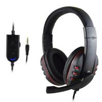 Wired Gaming Headsets Headphones Earphone with Mic for PS4 Sony PlayStation 4 #R