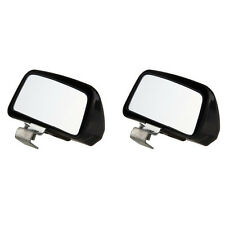 2Pcs Universal Blind Spot Mirror Wide Angle Rear Side View For Vehicle Car Truck