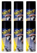 Plasti Dip Performix 11203-6 Black Multi-Purpose Rubber Coating Aerosol, 6 Pack