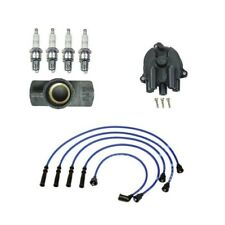 For: Isuzu Pickup 2.3L / 2.6L 91-95 Cap And Rotor Wire Set Plugs Tune Up Kit NGK
