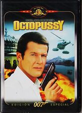 James Bond 007 nº 13: OCTOPUSSY con Roger Moore. 1983
