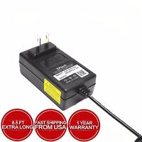 """Adapter For Ematic EPD909RD EPD909PR EPD909TL 9"""" DVD Player Power Supply"""