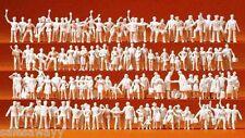 Preiser 16325 Personnel Ferrroviaire et Passagers. 120 non Peinte, H0