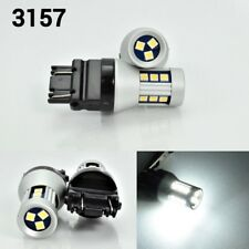 T25 3157 LED Front Signal White Bulb OSRAM 15 SMD Small & Smart K1 For Saturn A