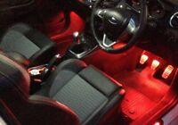 Ford Fiesta MK6 MK7 2002 - 2015 ST Zetec S Titanium LED Footwell Lighting Kits