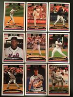 2006 Topps NEW YORK METS Complete Team Set Series 1 & 2 (26) Cards MINT LOOK