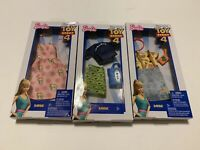 Lot Of 3 X Disney Toy Story 4 Barbie Fashion Clothing and Accessories (NIB)