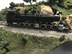 Mantua HO Booth Kelly 2-6-6-2 Articulated Logger Steam Loco Kit-OB