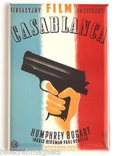 Casablanca (Poland) FRIDGE MAGNET (2 x 3 inches) movie poster bogart polish
