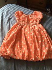 Girls Old Navy Pink polka dot corduroy sleeveless dress sz 5T/5A
