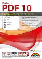Perfect PDF 10 PREMIUM with the OCR Module Create, Edit, Convert, Protect PDFs