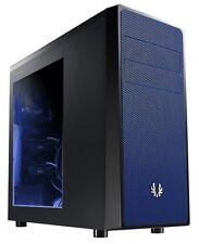BitFenix Neos Black/ Blue Window ATX Gaming PC Case USB 3.0 BFC-NEO-100-KKWSB-RP