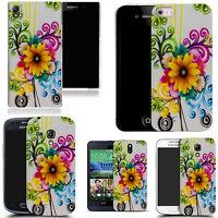 Motif case cover for All popular Mobile Phones -  sunflower