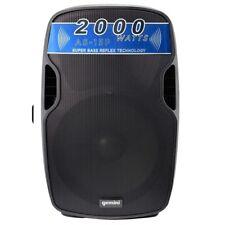 GEMINI AS 15P cassa amplificata diffusore attivo 2000watt dj live feste discobar