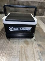 Vintage 90's HARLEY DAVIDSON IGLOO Cooler 6 Pack Ice Chest Lunch Box