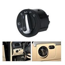 Auto CHROME Head light HEADLIGHT SWITCH For VW PASSAT CC B6 GOLF JETTA MK5 MK6