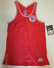 H3 new NCAA red OHIO STATE BUCKEYES licensed TANK TOP SHIRT size S (3-5)