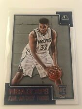 2015-16 NBA Hoops Karl Anthony Towns Rookie Card Minnesota Timberwolves